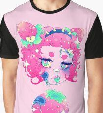 Rotten Fruit Girls! - Strawberry Graphic T-Shirt