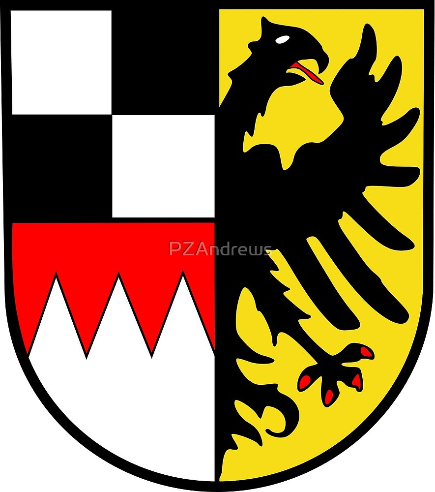 Middle Franconia coat of arms, Germany by PZAndrews