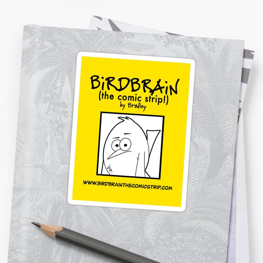 BiRDBRAiN Sticker by BiRDBRAiN (the comic strip!)