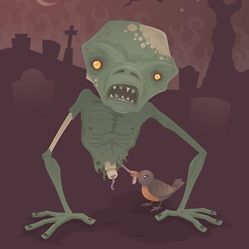 Sickly Zombie by fizzgig