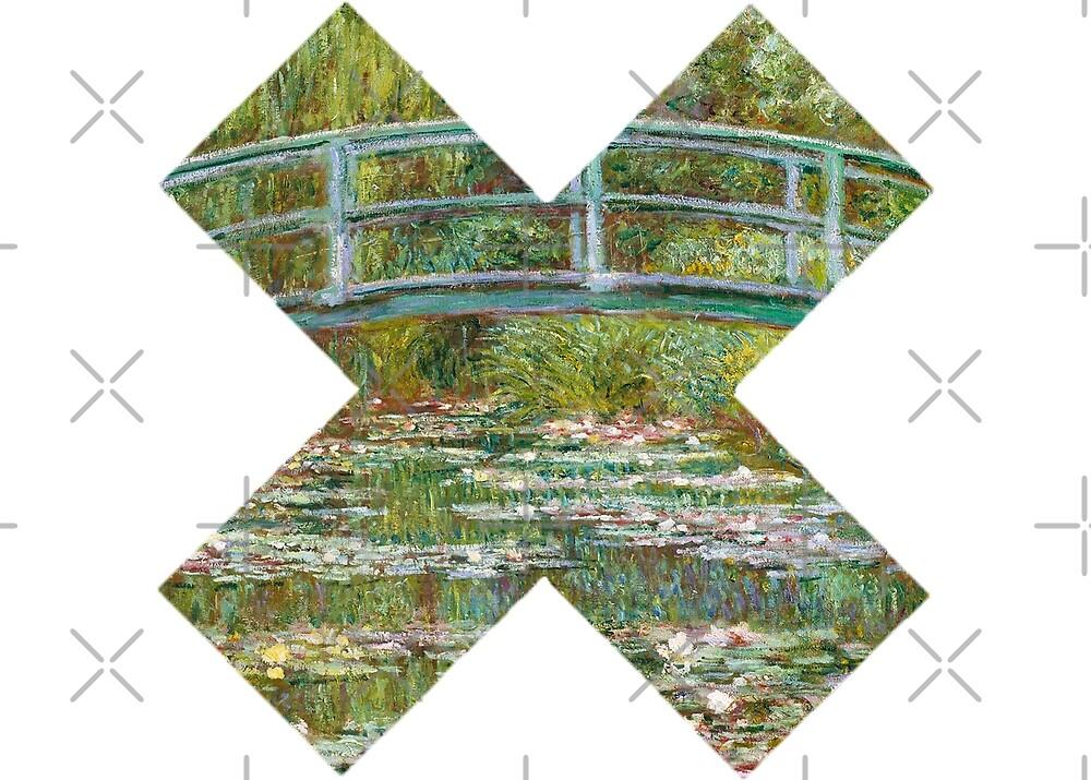 Crossed Monet by CriSan
