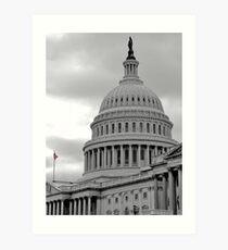 US Capitol Building Number 2 Art Print