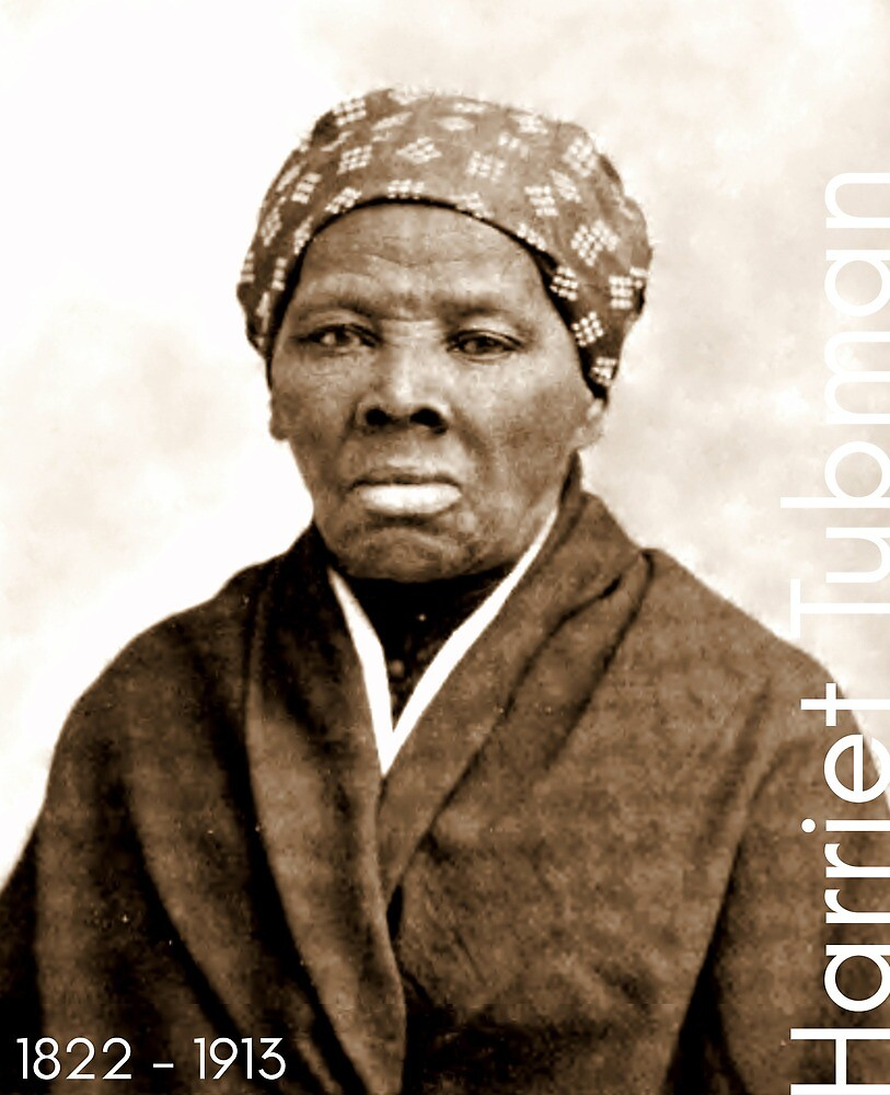 Harriet Tubman by LiterateGifts