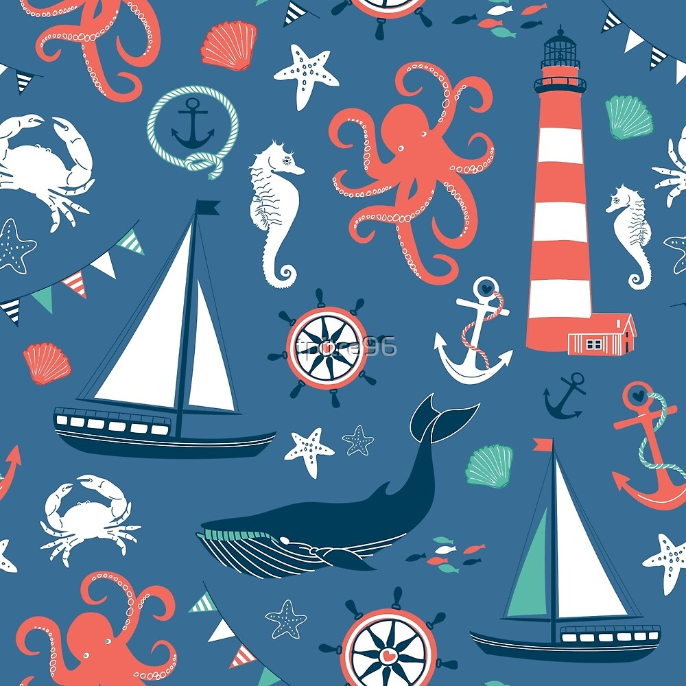 Nautical Pattern by tpitre96