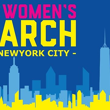 Women's March On Newyork City - Jan 20 2018 by RayanCarver