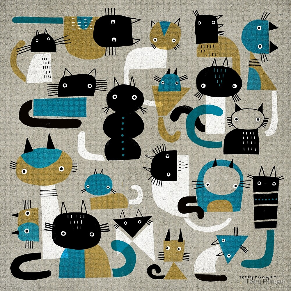 20 CAT PATTERN by Terry Runyan