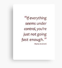 Not going fast enough... (Amazing Sayings) Metal Print