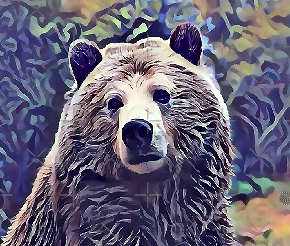 The Grizzly Bear by Sunleil