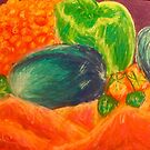 Ashleigh's Fruit & Vegetable Still Life by Emmapaige2020