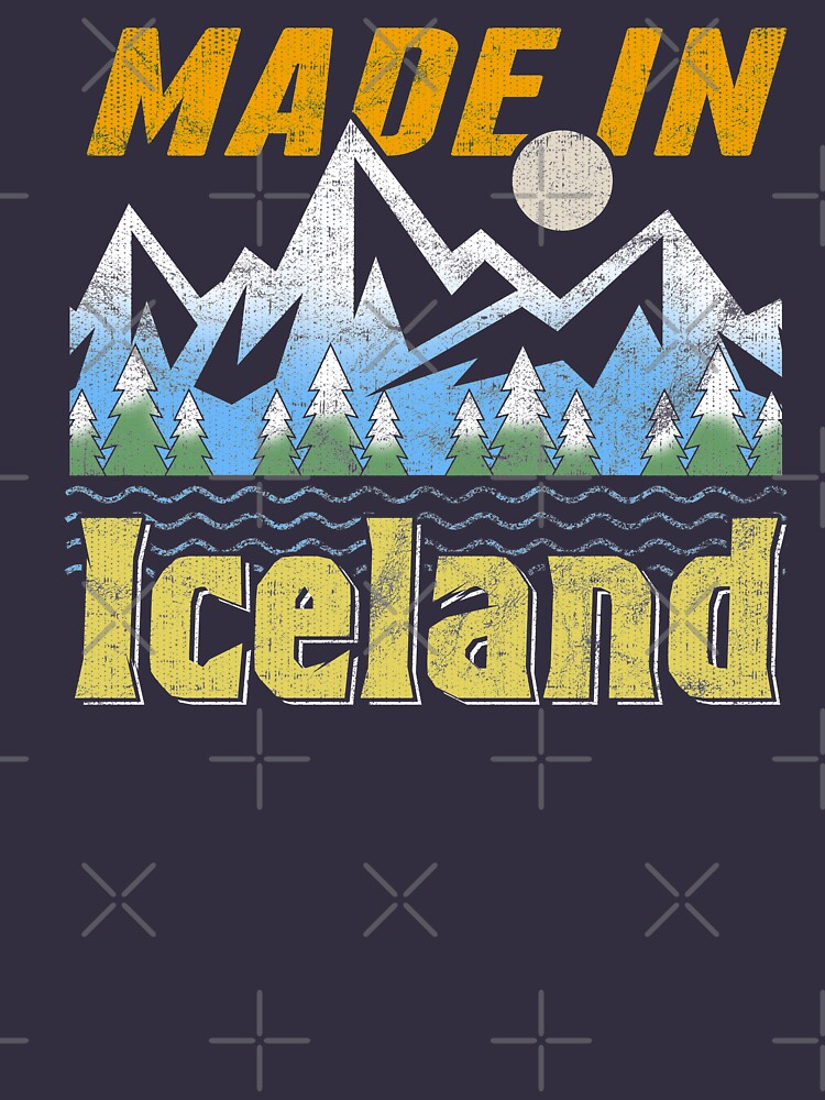Made in Iceland Camping style design for proud Icelanders by fermo