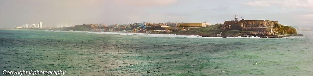 San Juan Panorama Atlantic Side  by John  Kapusta