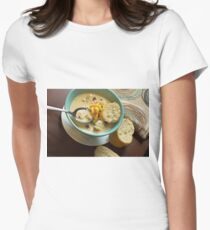 Loaded Baked Potato Soup Women's Fitted T-Shirt