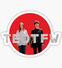 TEOTFW cut out Sticker