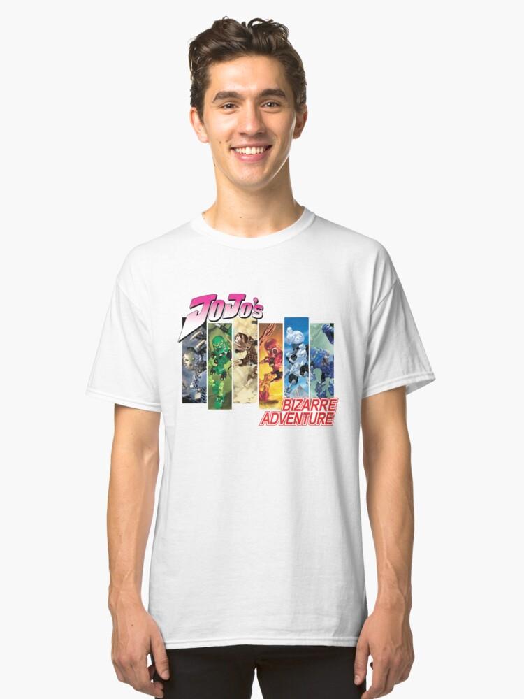 Jojo's Bizarre Adventure - Bionicle Toa Mata Classic T-Shirt Front