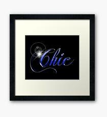 Chic Framed Print