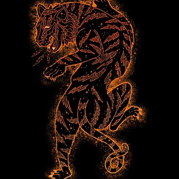 Electric Tiger, jungle, big cat, cool tiger by qetza