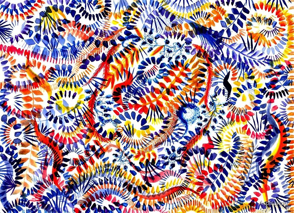 Saturation of the Imagination by Aspirando