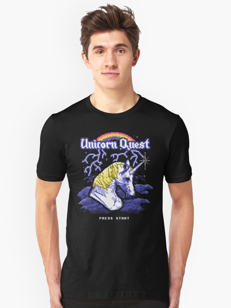 Unicorn Quest Unisex T-Shirt Front