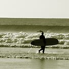 early surf by Leigh  Parkin