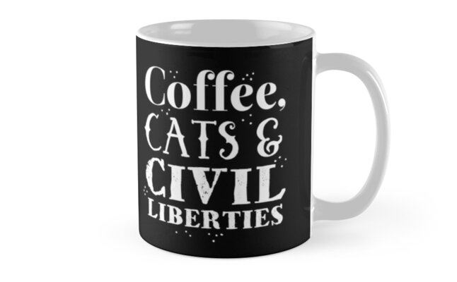 Coffee, Cats and civil liberties by jazzydevil