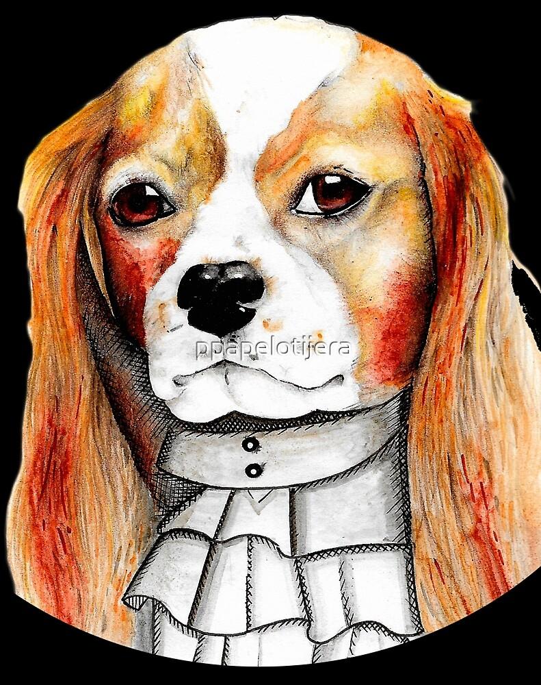 Illustrious dog by ppapelotijera