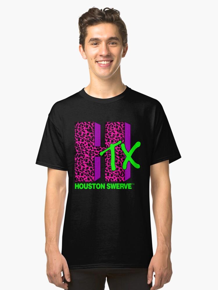 HOUSTON SWERVE Classic T-Shirt Front