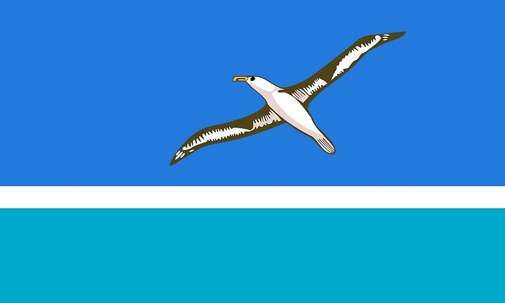 Flag of the Midway Atoll  by ofmany