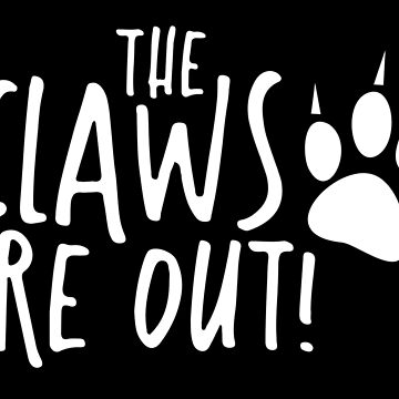 The claws are out! with kitty paw by jazzydevil