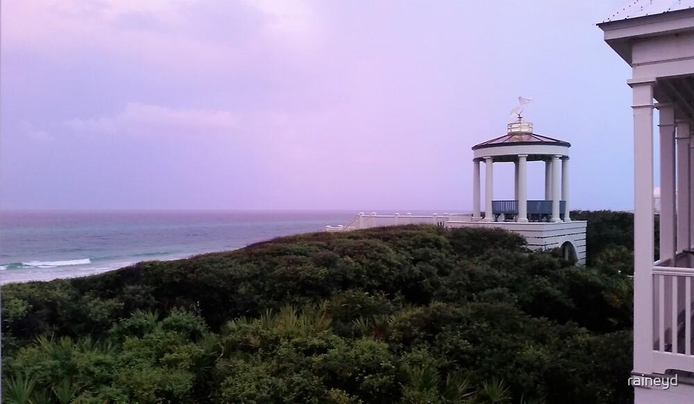 Rain on the Beach by raineyd