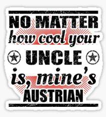 no matter uncle cool onkel gift Österreich Sticker