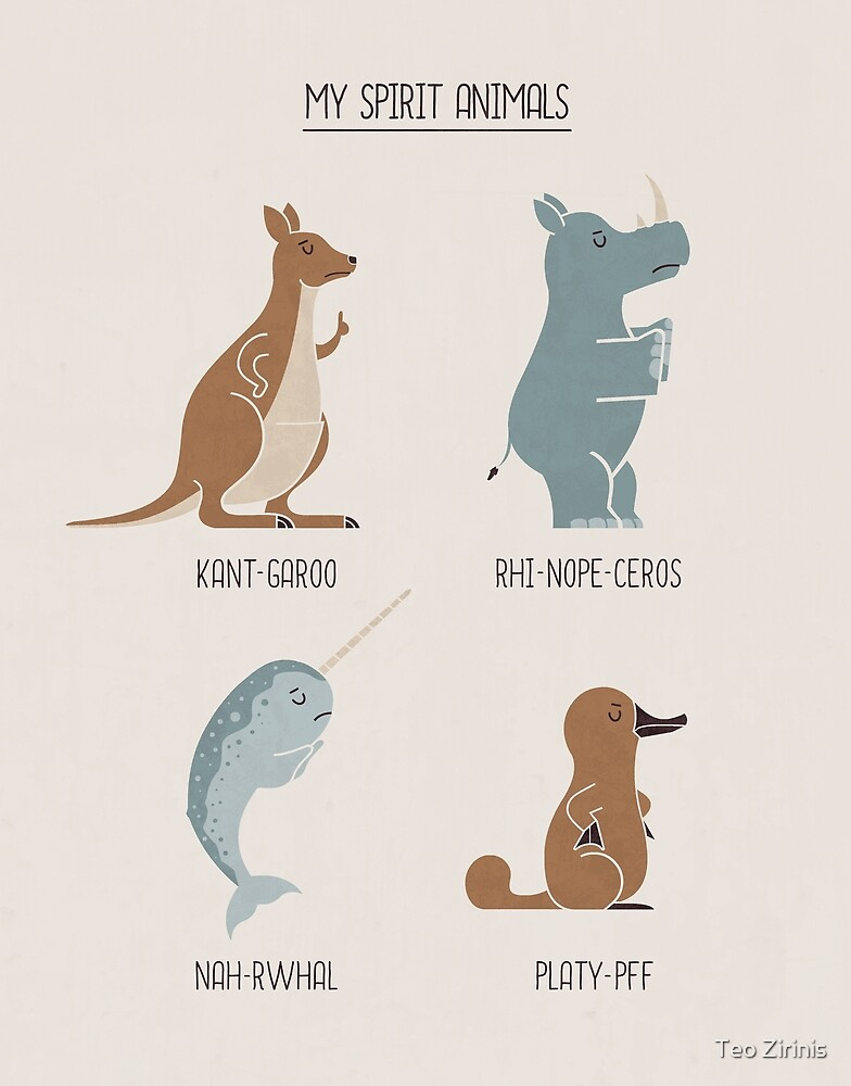 Spirit Animals by Teo Zirinis
