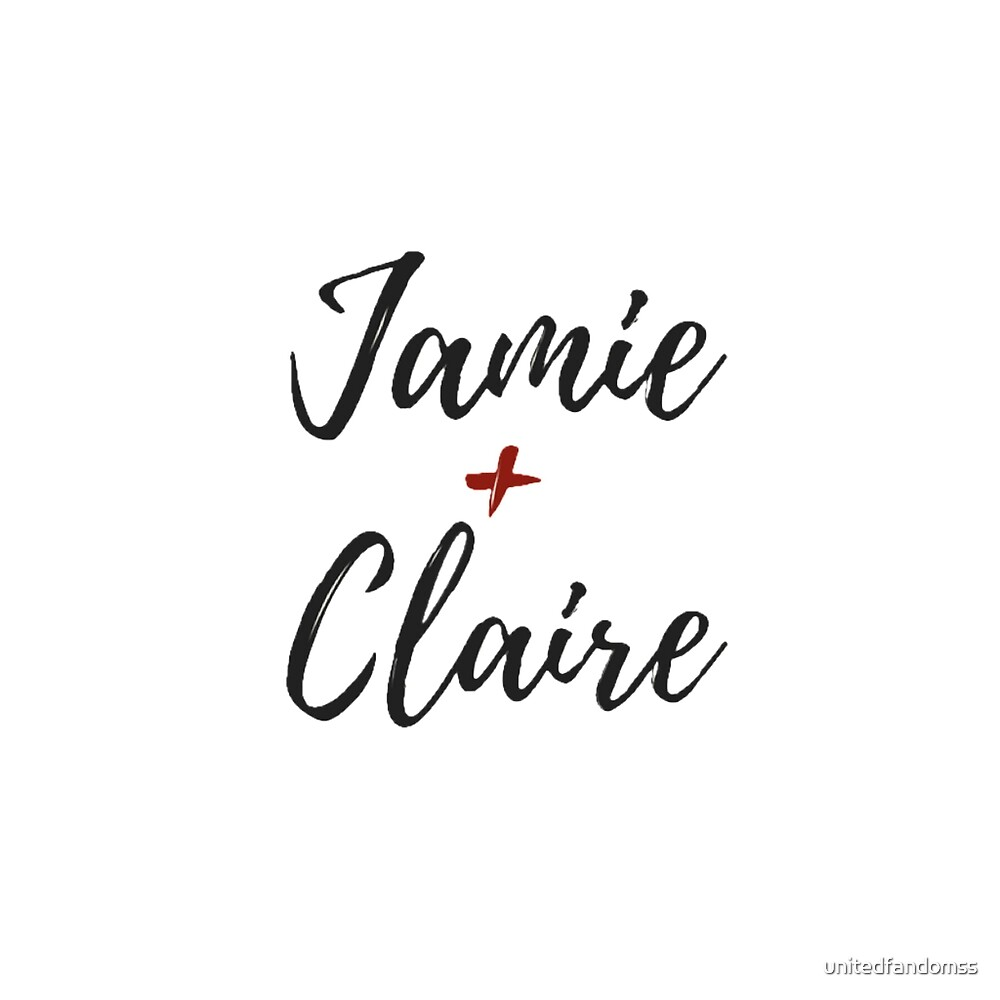 Jamie and Claire  by unitedfandomss