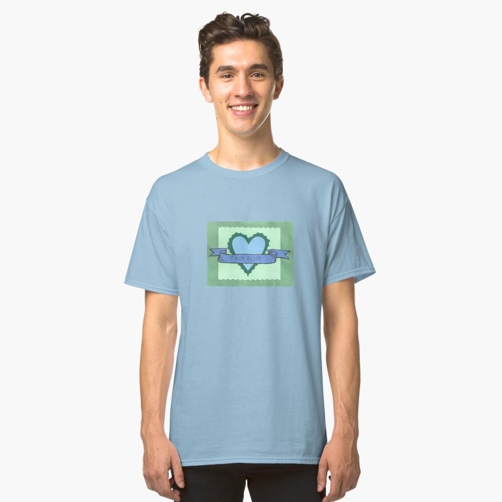 True Blue Classic T-Shirt Front