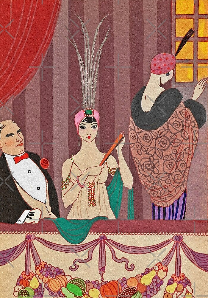 At the Opera c1914 by diane  addis