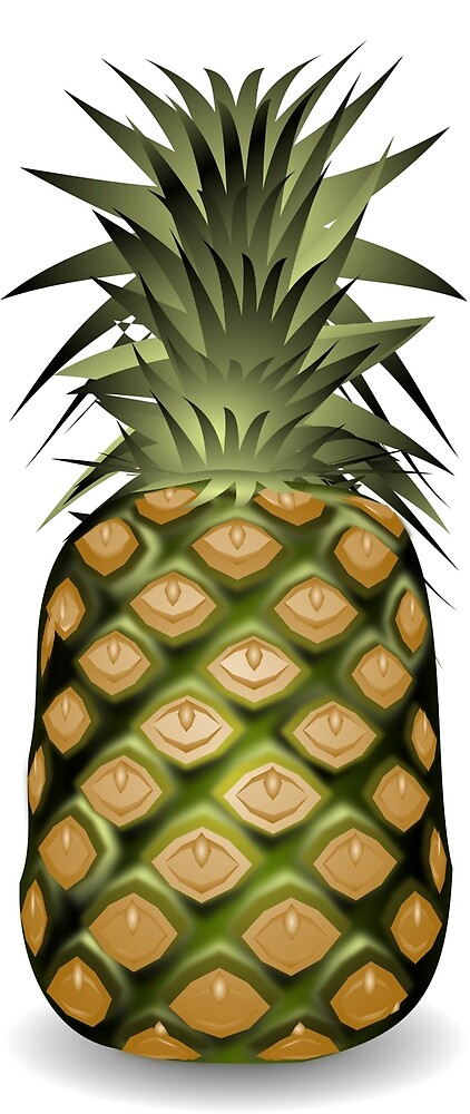 Pineapple 9. by Claudiocmb