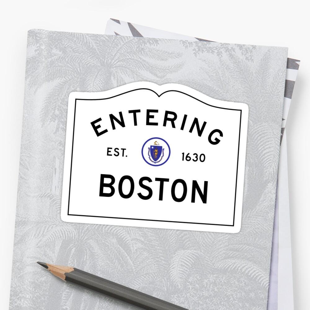 Boston Sign by marinarcher