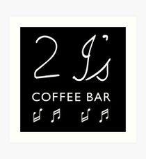 2I's Coffee Bar Art Print