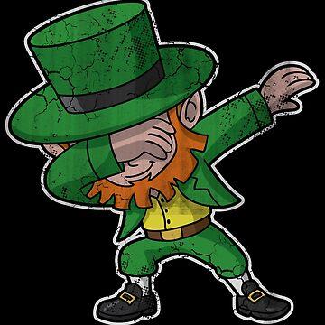 Irish Dabbing Leprechaun Dab by stpatricksday
