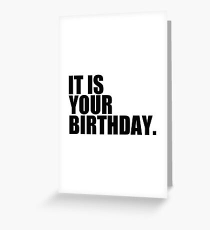 Birthday Card. Greeting Card