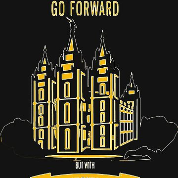 Go forward with purpose in gold by AleRamos