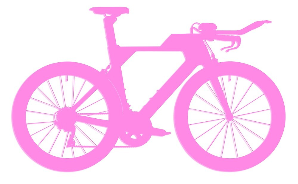 Bike Pink by EberSucher