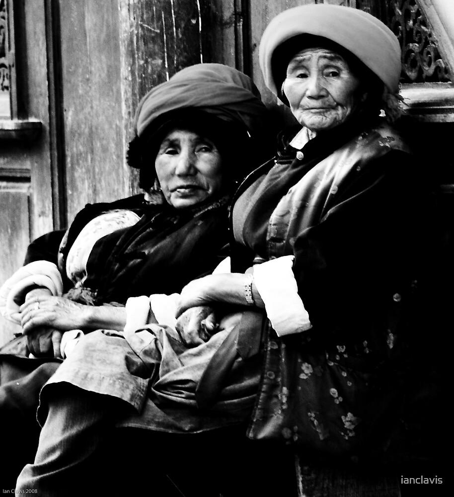 The Old Girls of Zhongdian by ianclavis