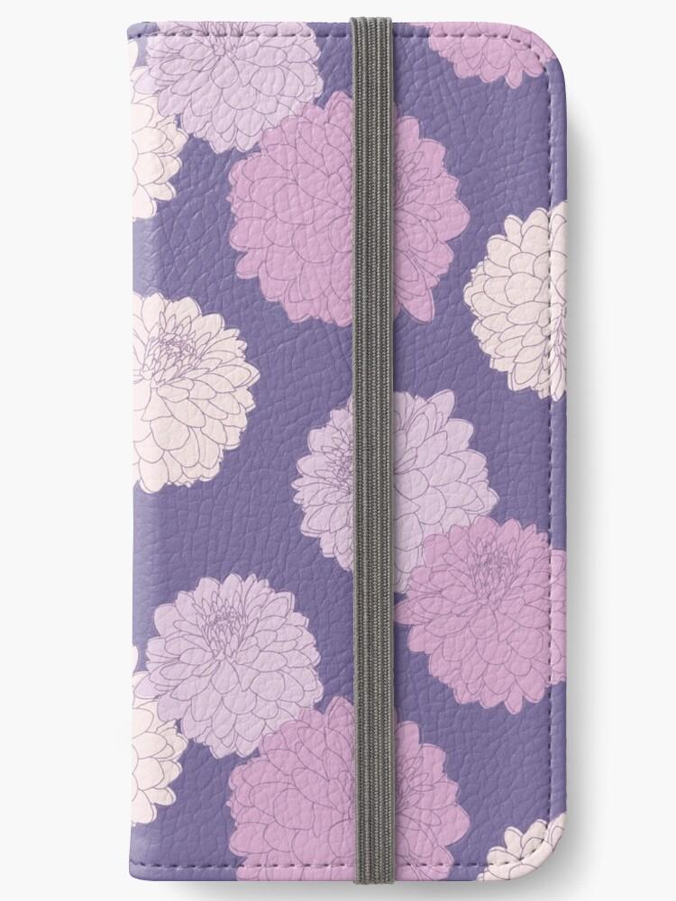 Amelia Floral II - Vintage Zinnia Flower Garden Pattern by Bstecdesign
