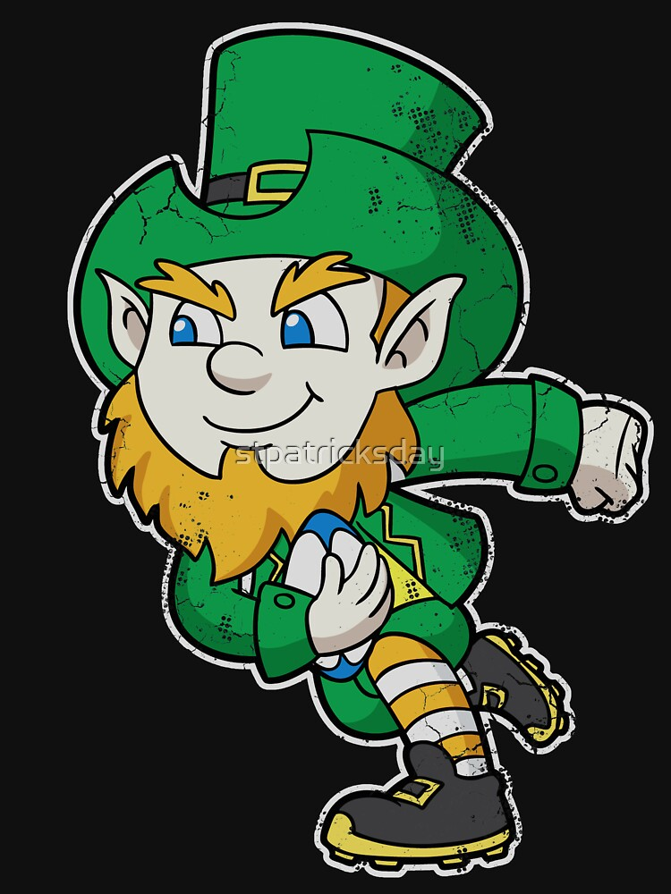 Irish Rugby Leprechaun Ireland by stpatricksday