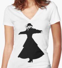 Stevie Nicks Women's Fitted V-Neck T-Shirt