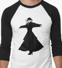 Stevie Nicks Baseballshirt mit 3/4-Arm