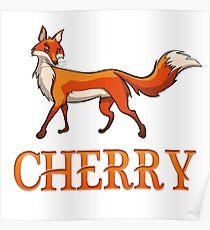 Cherry Fox Poster