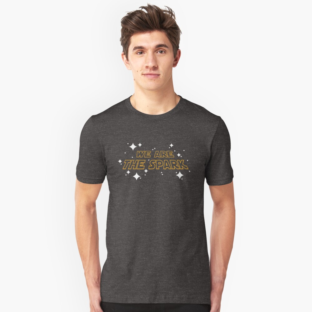 We Are The Spark Slim Fit T-Shirt