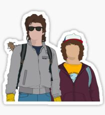 Dustin and Steve Design  Sticker