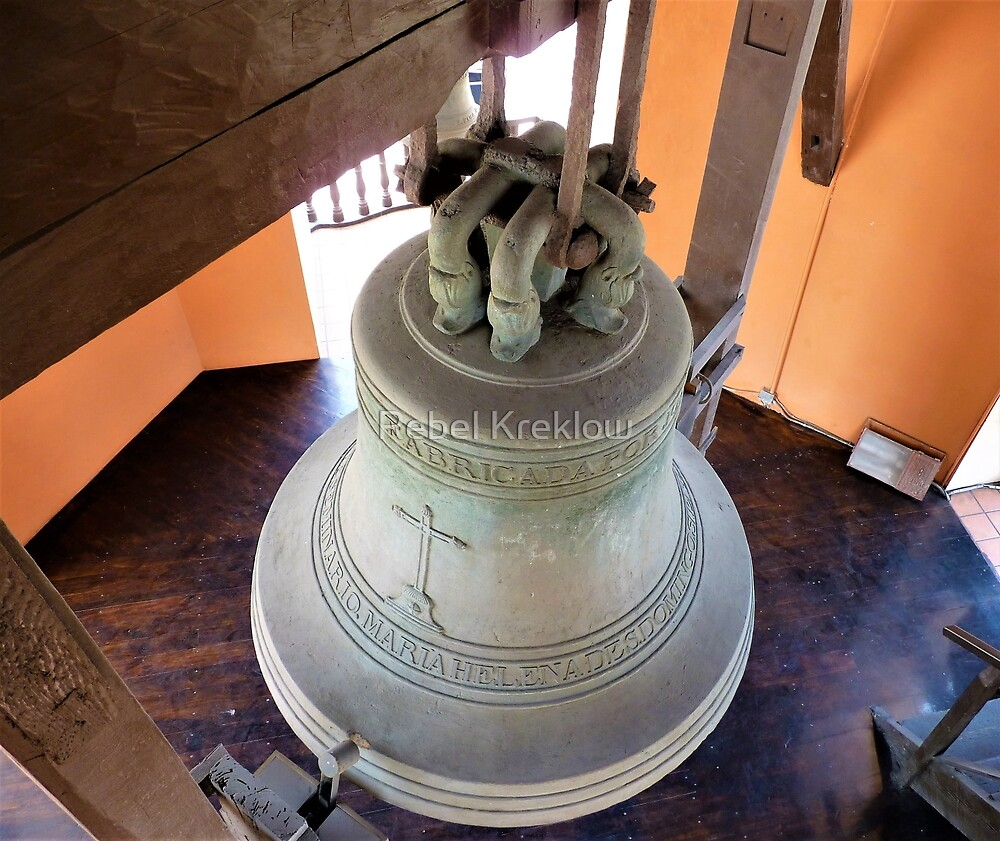 Steeple Bell III - The Church and Convent of Santo Domingo, Lima, Peru by Rebel Kreklow